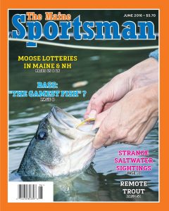The Maine Sportsman June, 2016 Issue