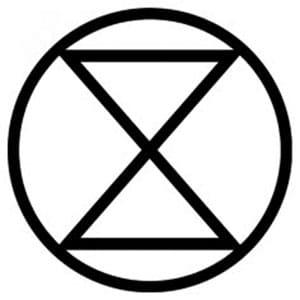 Extinction symbol.