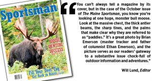 The Maine Sportsman's October 2015 Issue