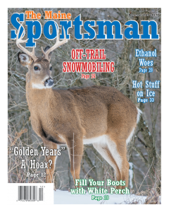 The Maine Sportsman's December,  2015 Issue