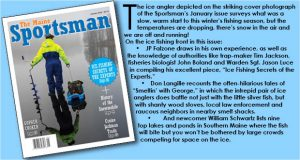 The Maine Sportsman's January, 2016 Issue